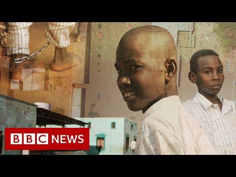 Sudan khalwas: Undercover in the schools that chain boys - BBC News