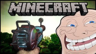 Minecraft: Trolling Little Kids | #20 (Ray Gun!)
