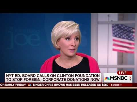 Brzezinski on Clinton''s 30 hidden Benghazi emails: 'Oh my God, people are not that dumb'