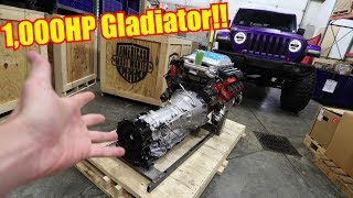 1,000HP Hellephant Swapping my Jeep Gladiator Rubicon!
