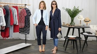 The Styling Studio - How to Wear The Draped Navy Trench