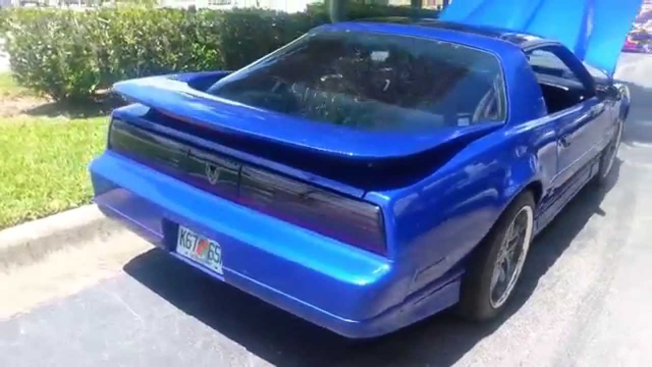 1987 Pontiac Firebird Trans Am GTA with 57 LS1 Corvette V8 Engine