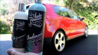 Auto Finesse vs BRIGHT RED VW Golf GTI!!!