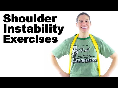 Shoulder Instability Exercises Ask Doctor Jo