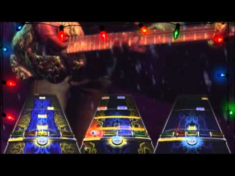 """A Christmas Rock Medley"" - One Man Band FC (Expert) - Rock Band 3 (RBN)"
