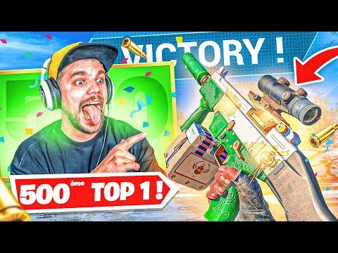 MON 500eme TOP1 sur WARZONE !! (Classe CHEATÉE sur la KSP)