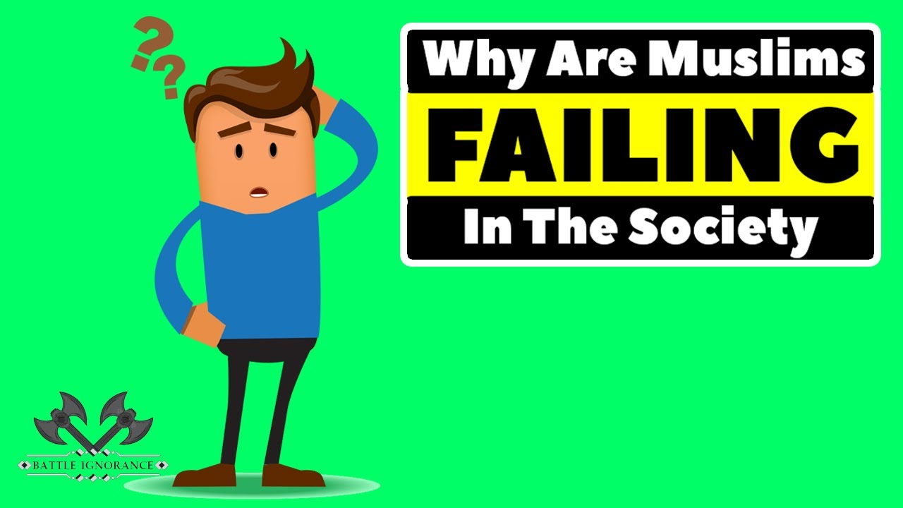 Why Are Muslims Failing in The Society - Nouman Ali Khan - Animated