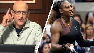 Klavan Loses It On Serena Losing It