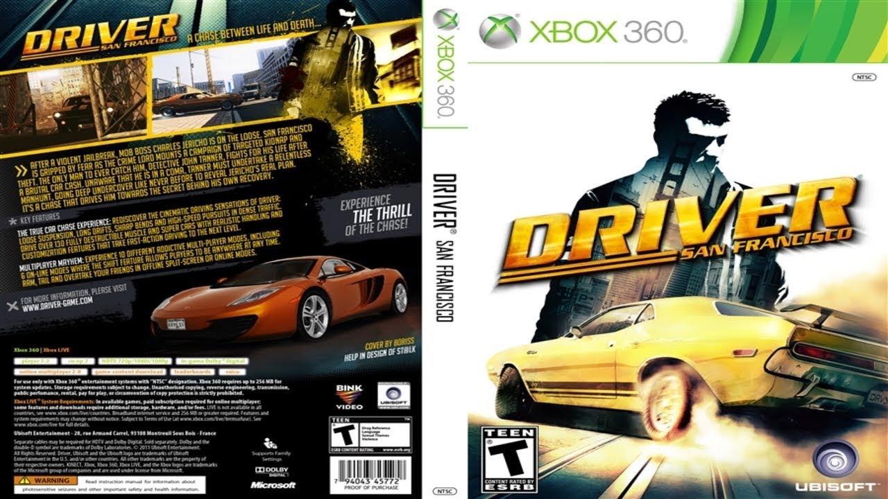 Driver San Francisco Xbox 360 Jtag Rgh Youtube
