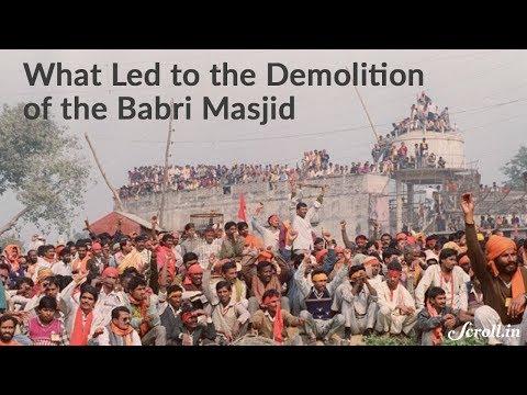 babri masjid history