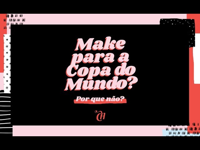 Copa  Larissa Manoela caprichou – e ousou – no make pra torcer pelo Brasil    Capricho d3c224b61a