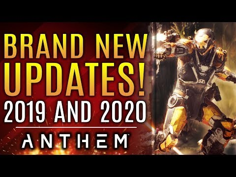 Anthem - Brand New Updates! Next Year of Support, DLC in 2020 and More!