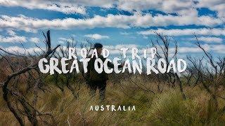 Road Trip at Great Ocean Road , Melbourne - Australia . (GoPro Hero 4 Silver )