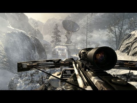 Awesome Winter Stealth Mission From Call Of Duty Black Ops
