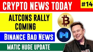 Bitcoin $100k, Altcoins Rally Coming, Matic News Today | Cryptocurrency News Today