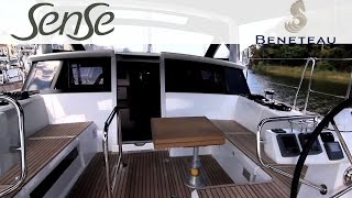 Beneteau Sense 55 Sailboat - Interior Features by BoatTest.com