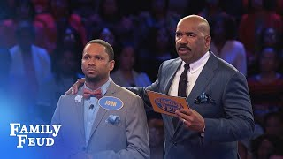 Can John get 36 points with his final answer? | Family Feud