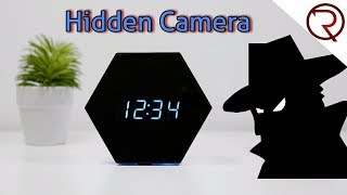 Become a Spy with this Hidden Clock 1080P Camera!