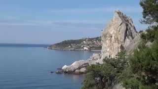 Отдых в Крыму  Посёлок Симеиз(Самые дешевые авиабилеты. http://bit.ly/1MyAytt Отдых в Крыму всегда был востребован, а в последнее время он стал..., 2015-11-23T12:14:10.000Z)