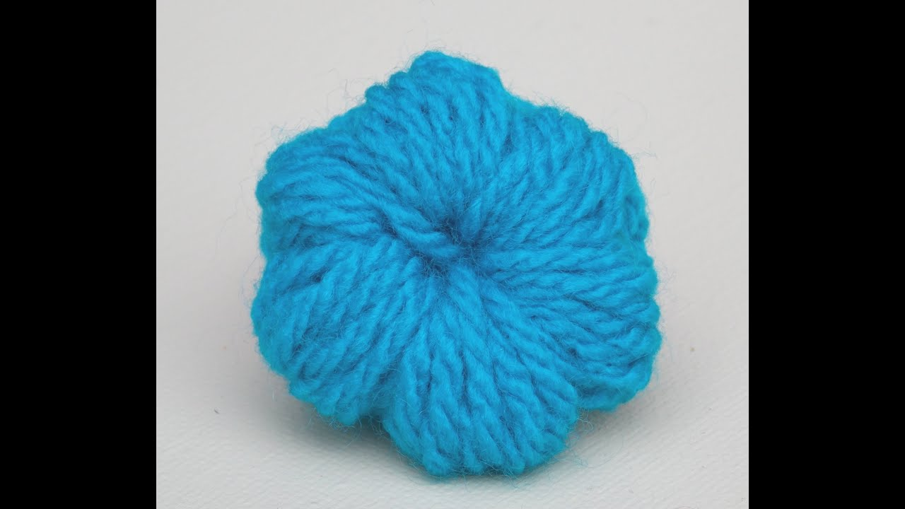 Crocheting Puff Stitch : How to Crochet a Puff Stitch Flower - YouTube