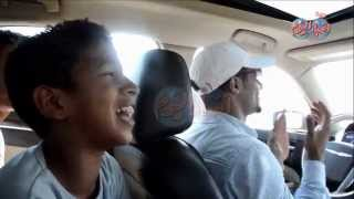 """مفاجأة مدوية داخل سيارة """" محمد رمضان """" فى عز الظهر بطريق الواحات"""