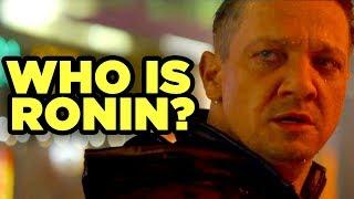 AVENGERS ENDGAME - Who is Ronin?