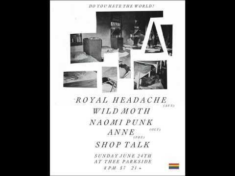 Royal Headache - live -  2012.6.24, Thee Parkside, San Francisco CA - full show audio only