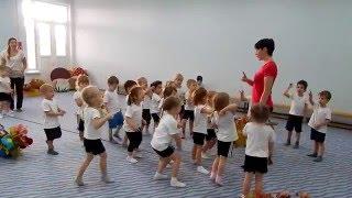 Занятие по физкультуре для детей  2 я мл  группы