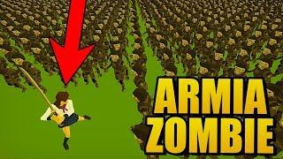 50000 ZOMBIE vs LUDZIE | NOWY SYMULATOR WALK - SWARMZ