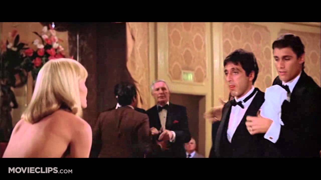 Scarface 1983 Scene Clip Say Goodnight To The Bad Guy Youtube