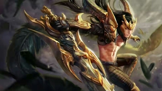 Champion's Fate BlackFeather Legendary Skin Vainglory