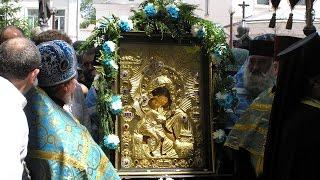 Крестный ход Федоровской иконы Божией Матери в Костроме