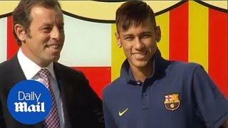 Bartomeu and Rosell to stand trial in Neymar tax fraud case - Daily Mail