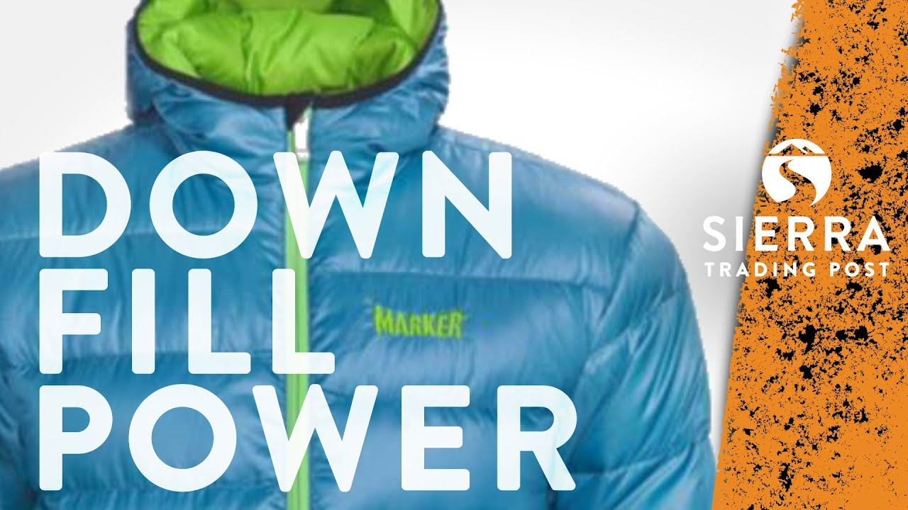 Down Fill Power: Goose Down Explained - YouTube