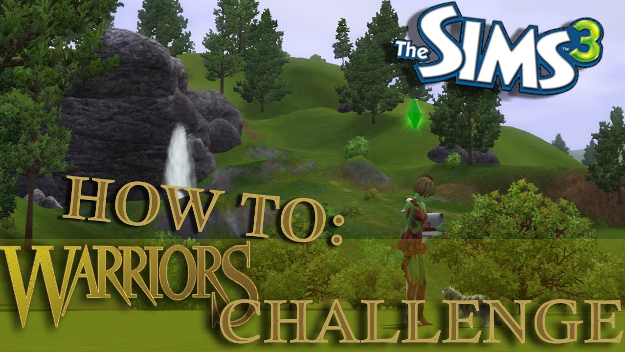 Sims 3: Warrior Cats Legacy Challenge  How To: Part 2- Build Mode