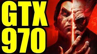 Tekken 7 GTX 970 OC | 1440p Ultra preset settings  | FRAME-RATE TEST
