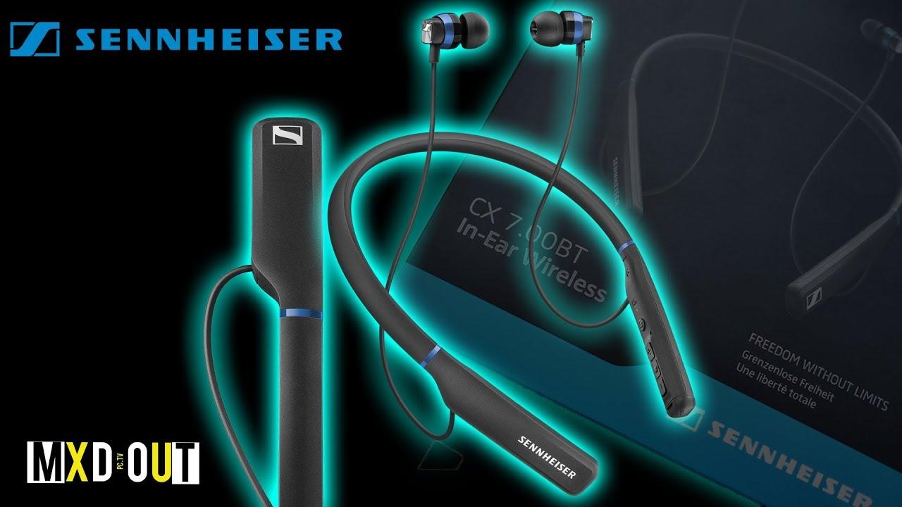 Sennheiser cx 7.00bt bluetooth earphones with mic(black)