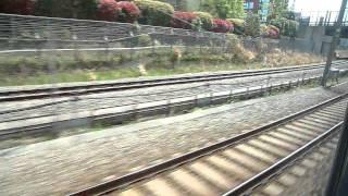 東海道貨物支線 休止線 新幹線からの車窓