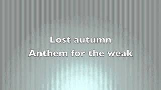 Lost Autumn - Anthem for the Weak Free download link