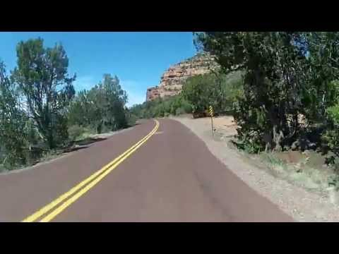 Crazy Fast Beautiful Descent from Kolob on Road Bike