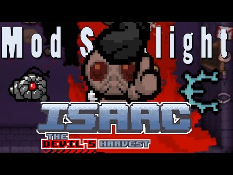 The Binding of Isaac The Devil's Harvest | MEGA SATAN BRIMSTONE?! | Mod Spotlight