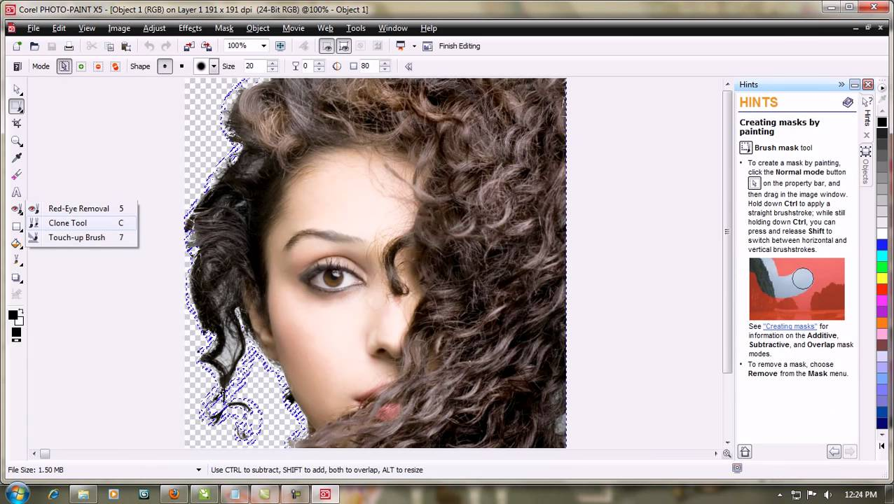 How To Make A Beautifull Banner Of Beauty Parlour Part 1 Avi Youtube