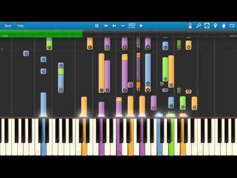 Steely Dan - Pretzel Logic - Piano Tutorial - Synthesia Tutorial