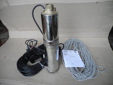 погружной центробежный насос Водолей БЦПЭ submersible centrifugal pump btspe