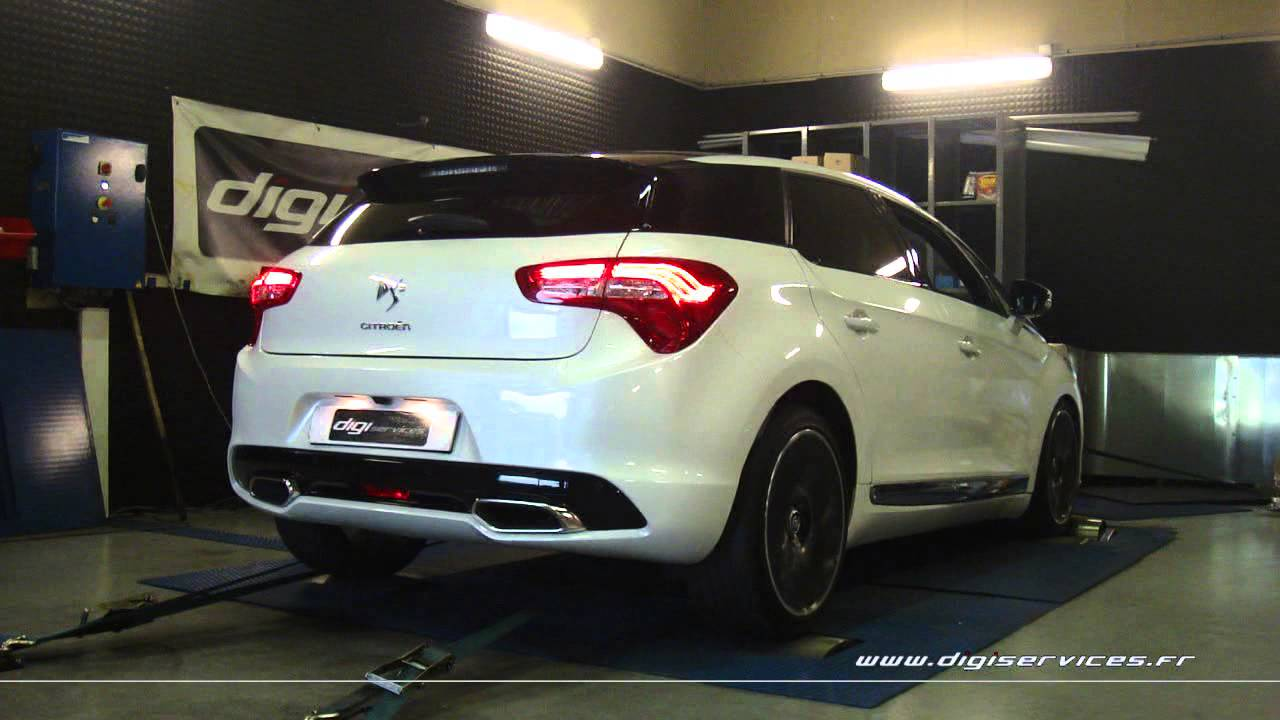 reprogrammation moteur citroen ds5 hdi 160cv 188cv digiservices paris dyno youtube. Black Bedroom Furniture Sets. Home Design Ideas