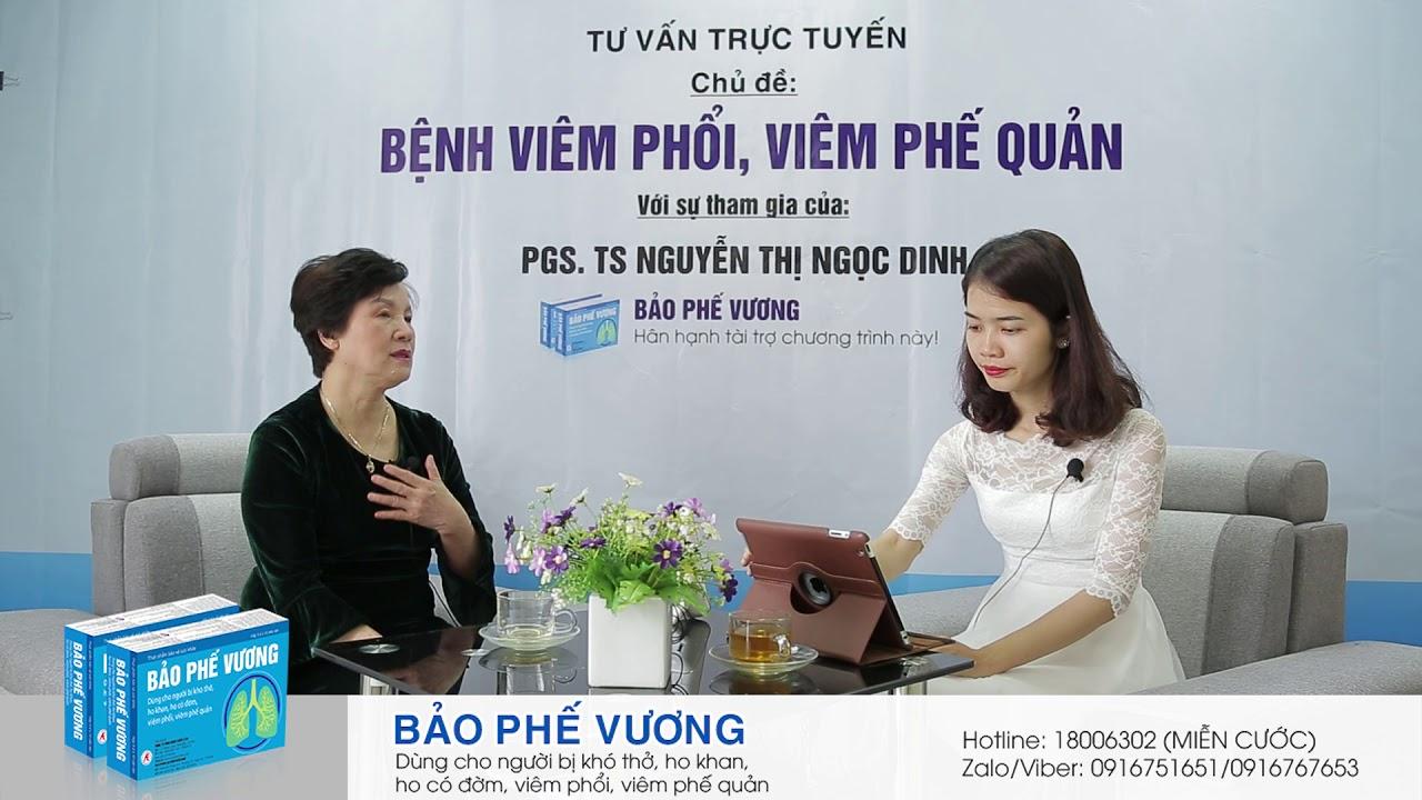 Dấu hiệu bệnh phổi là gì? PGS. TS Nguyễn Thị Ngọc Dinh giải đáp
