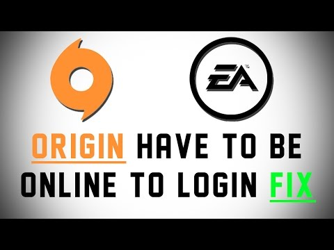 [FIX] ORIGIN - Have To Be Online To Login