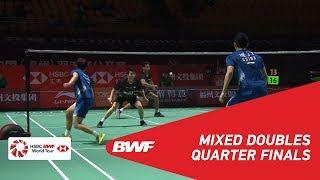 QF | XD | AHMAD/NATSIR (INA) [3] vs HE/DU (CHN) | BWF 2018