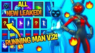 *NEW* All Leaked Fortnite Skins & Emotes..! *ELECTRO FIED* (Gemini,Running Man v2..)