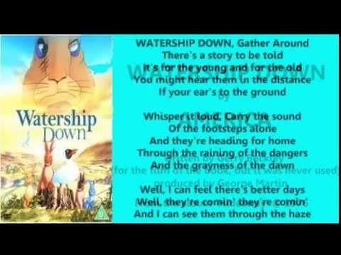 America - Watership Down (+ lyrics 1976 alt. version)